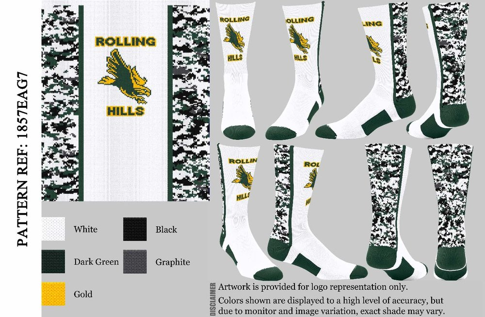 ROLLING HILLS WHITE CAMO