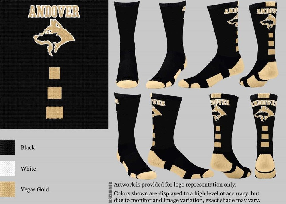 ANDOVER FOOTBALL BLACK BASELINE