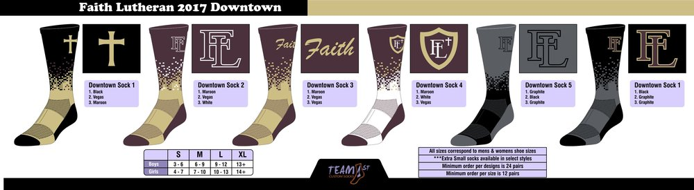 FAITH LUTHERAN FOOTBALL (2017) DOWNTOWN