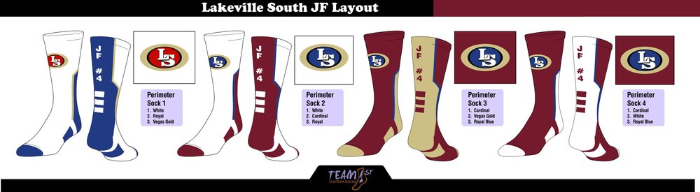 """LAKEVILLE SOUTH FOOTBALL """"JF"""" LAYOUT"""