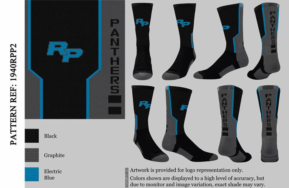 RANCHO PANTHERS FOOTBALL BLACK/GRAPHITE PERIMETER