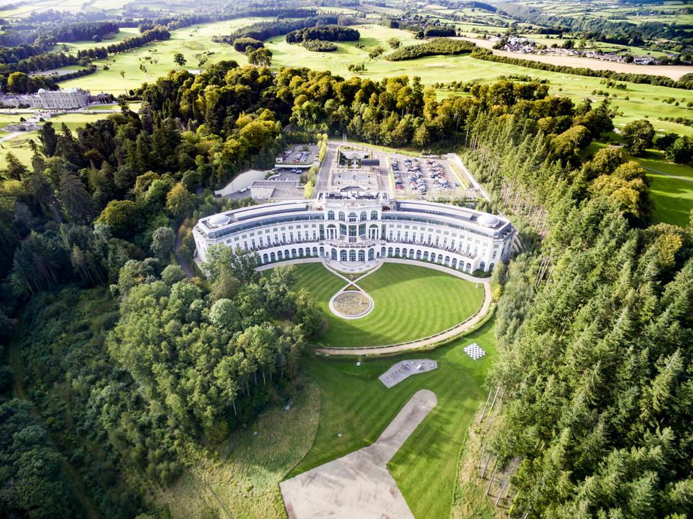 Copy of Resort in Ireland - Drone Photo