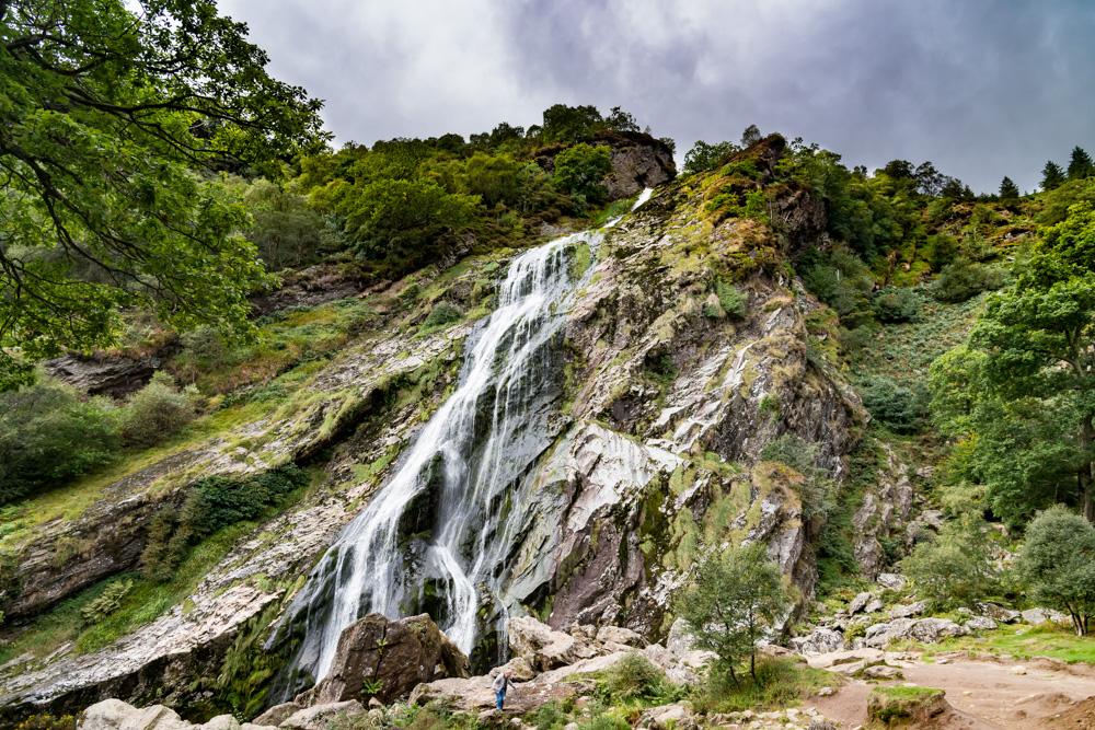 Copy of Drone photo of Irish Waterfall