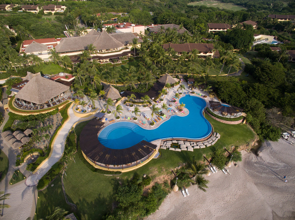 Copy of Drone Photo of Resort in Mexico
