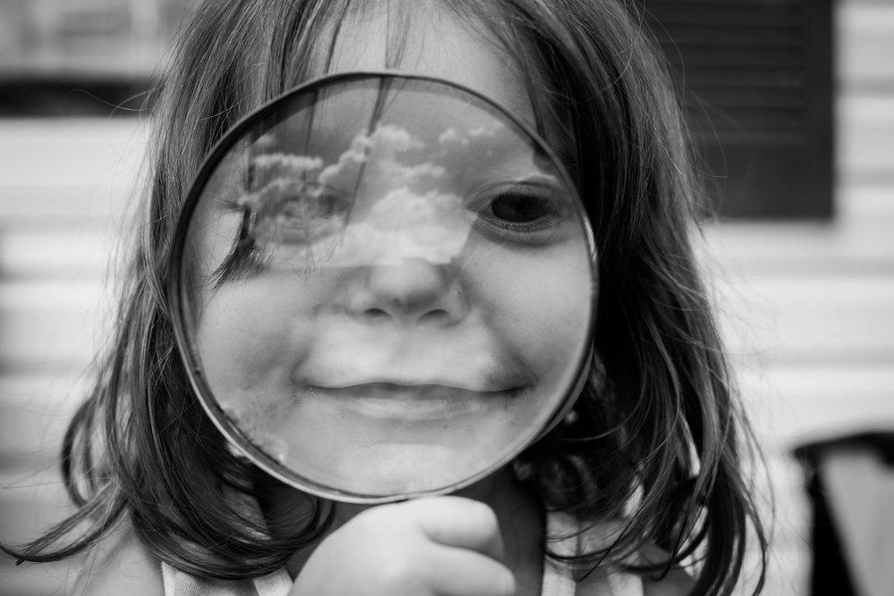 magnify glass Lisa R. Howeler