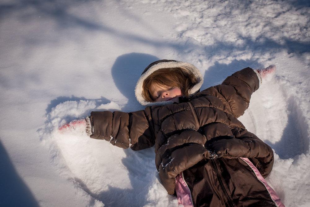 snow angel Lisa R, Howeler