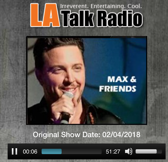 JORGE PEREZ  FOR  LA TALK RADIO