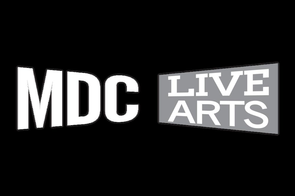 MDC live arts logo