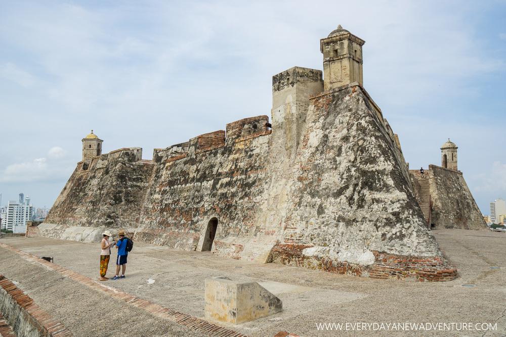 La Castilla de San Felipe de Barajas