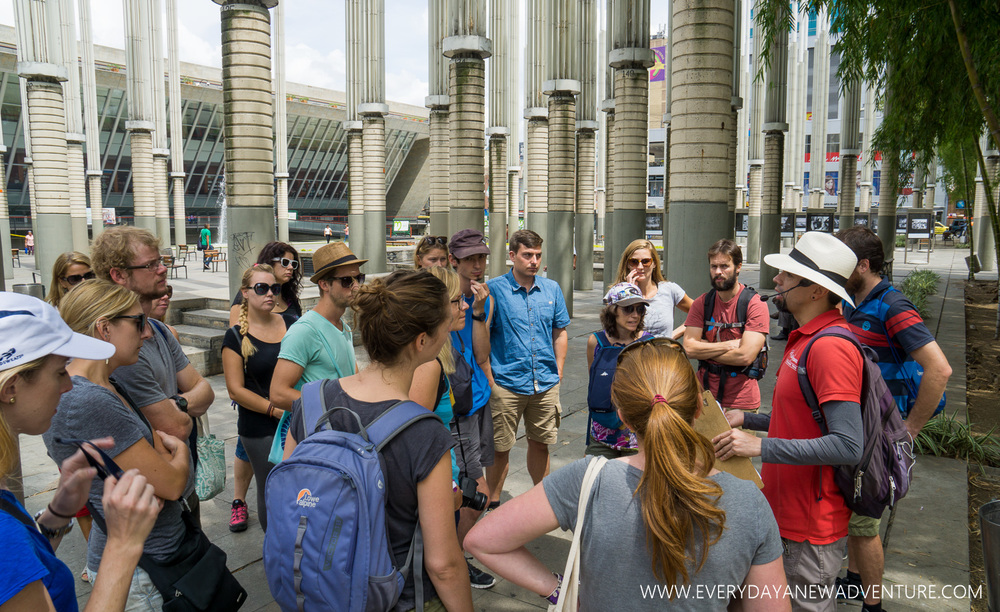 On our walking tour with Real City Tours and Hernan.