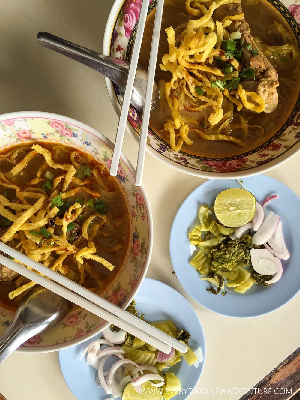 khao soi from Sirachai Express