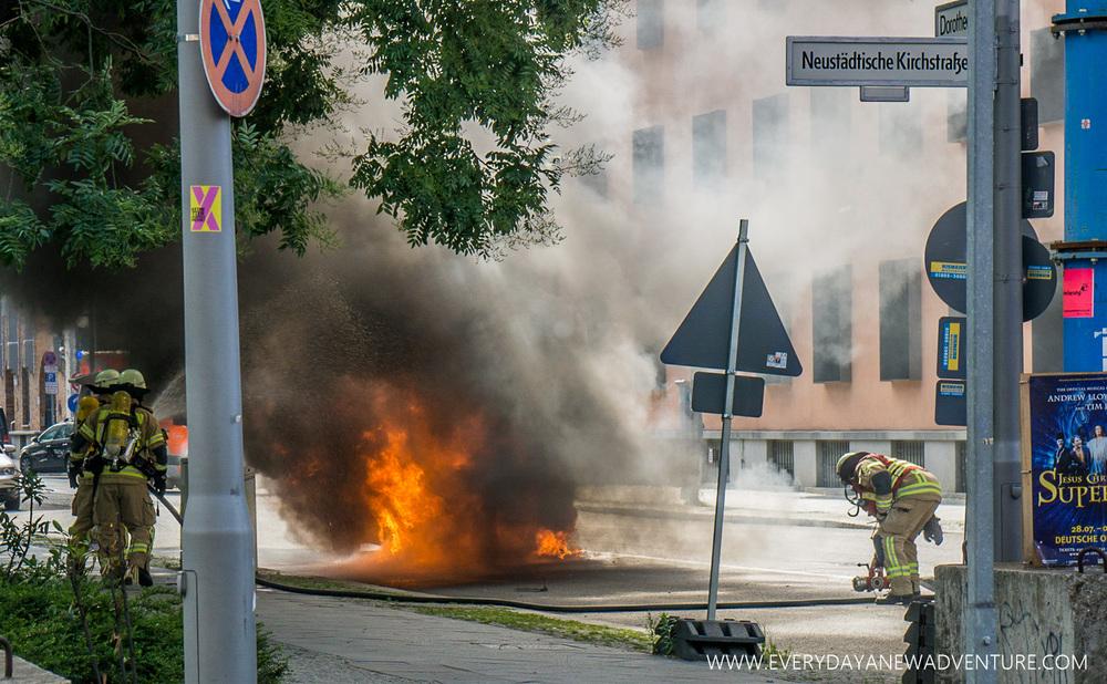 Burning Car!