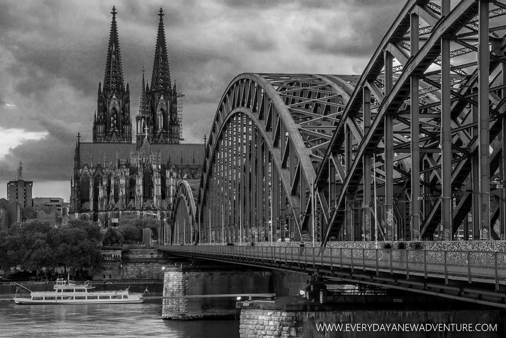 Cologne Dom and Hohenzollern Bridge