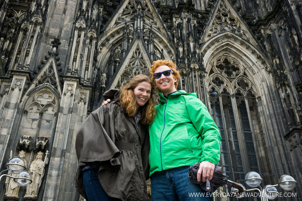 Cammie and Kip at the Dom
