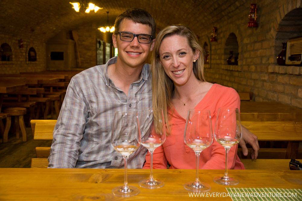 Wine tasting in Eger