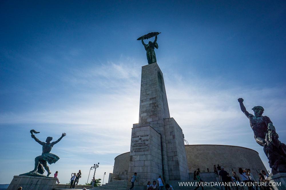 Liberty Statue on Gellert Hill
