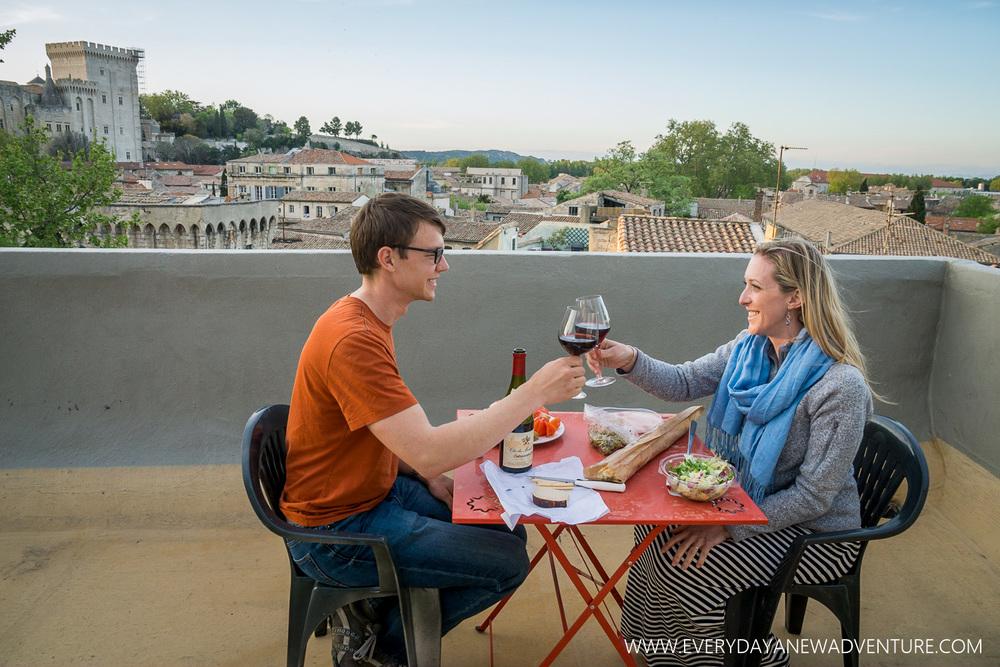 Our Last Dinner in Avignon