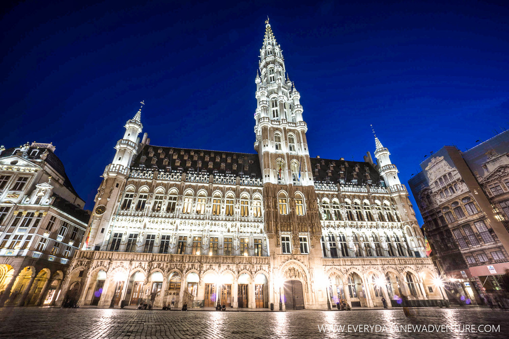 City Hall at Grand Place