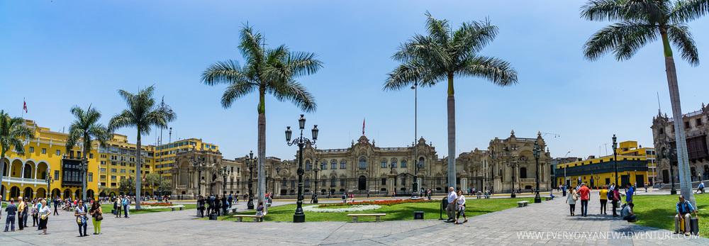 Lima's main square.