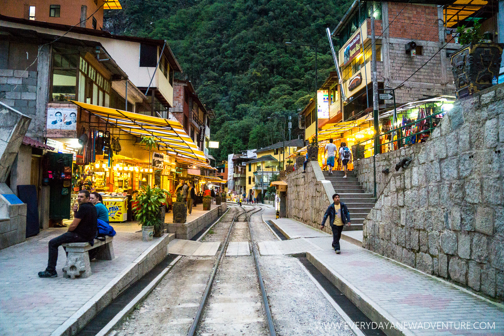 Aguas Calientes.