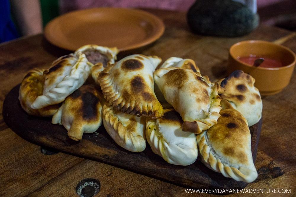 Deliciousness at La Casa de Empanadas
