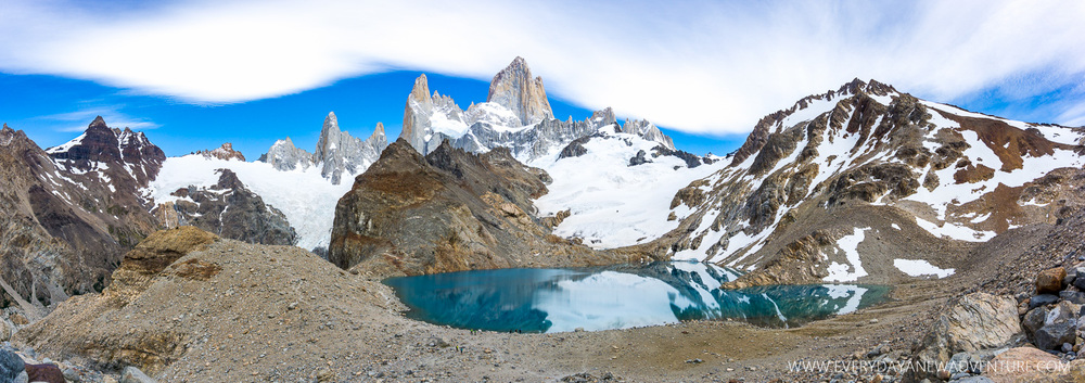 Laguna de Los Tres and Cerro Fitz Roy