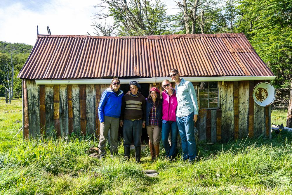 Our crew at Puesto La Rosada - Alexandra, Mario, Jackie, Noelle, & Jake