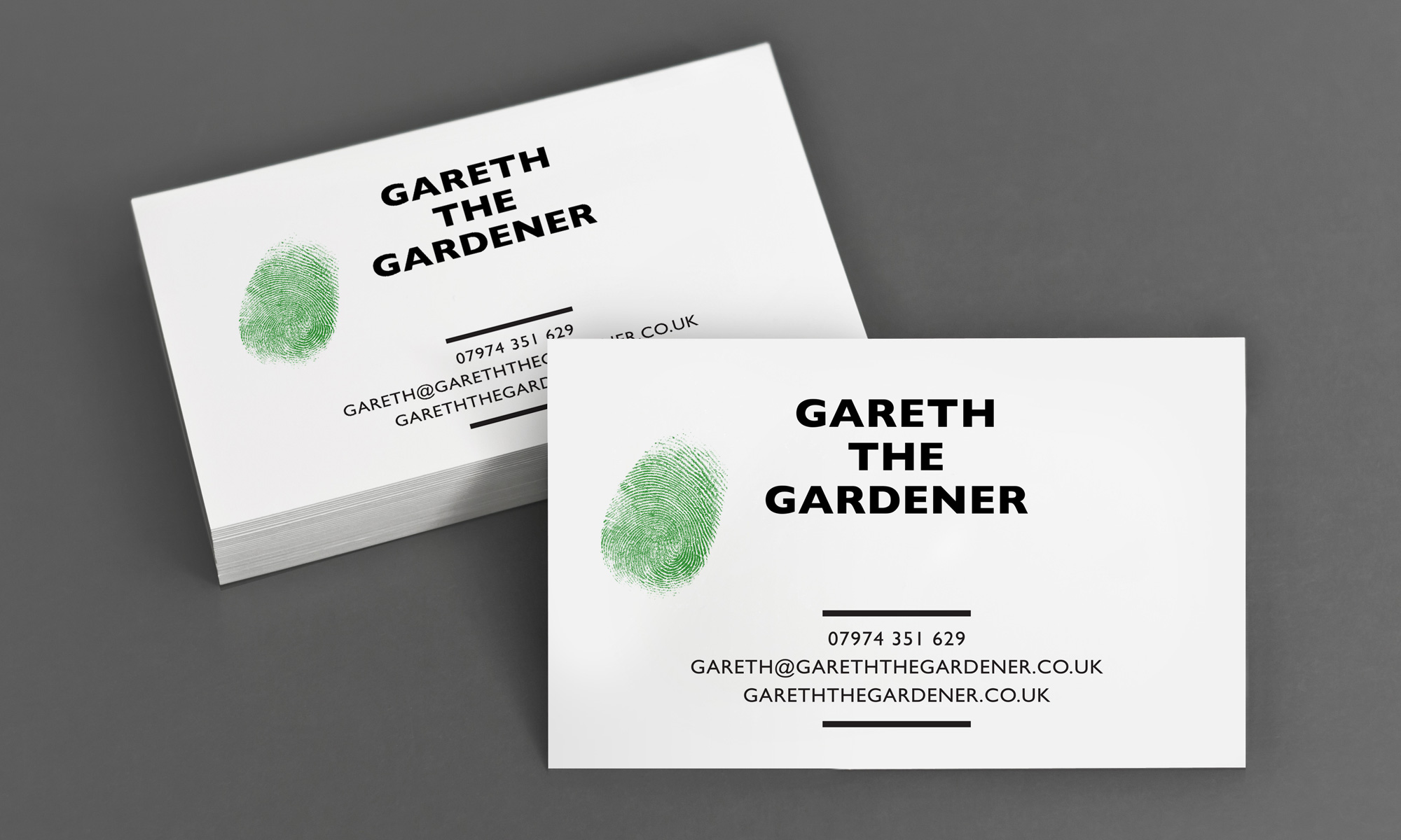 Gareth the Gardener — Leard: Design Studio of Steve Leard, a Graphic ...