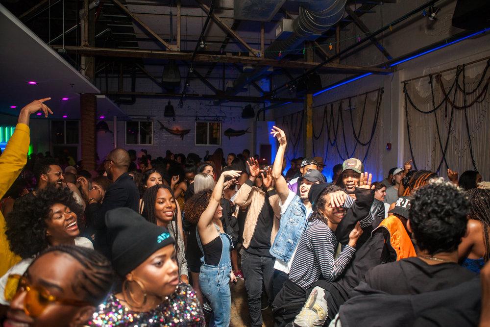 ATLANTA PREMIERE AFTER PARTY W/ DJ MOMA + DEANTE HITCHCOCK