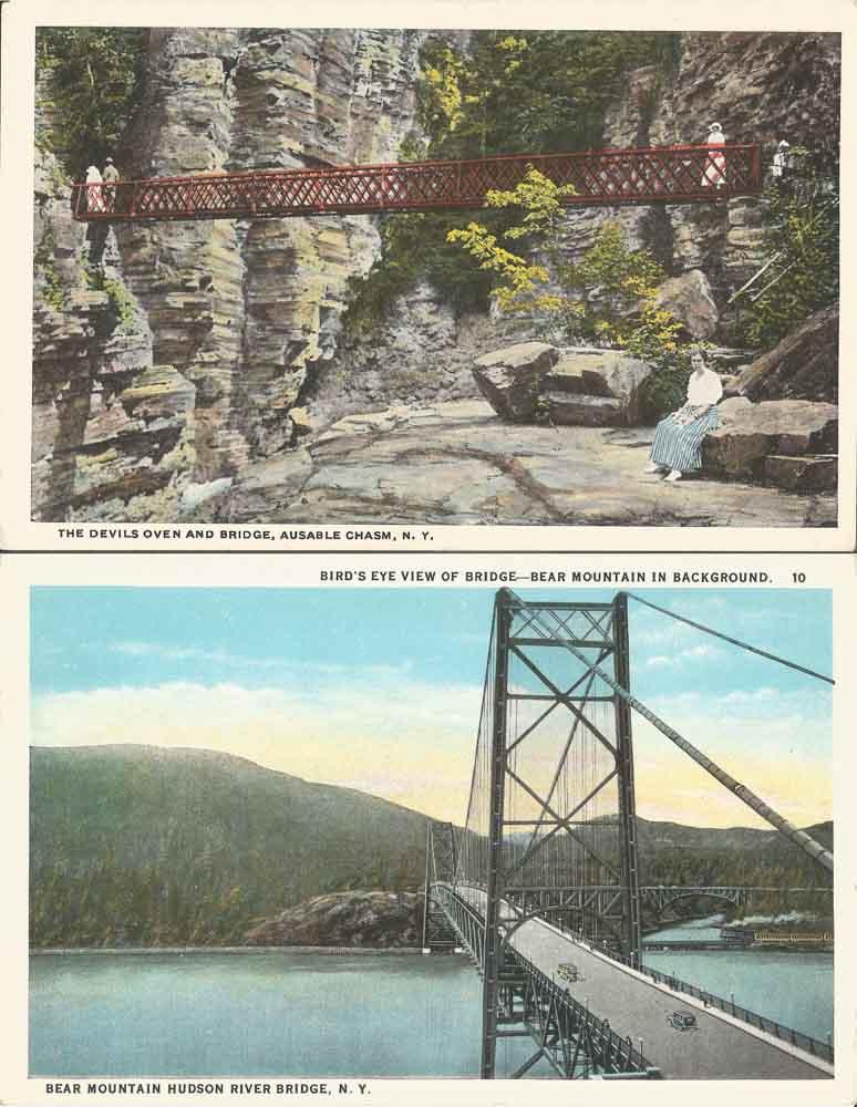 Found Postcards I & II, 2015
