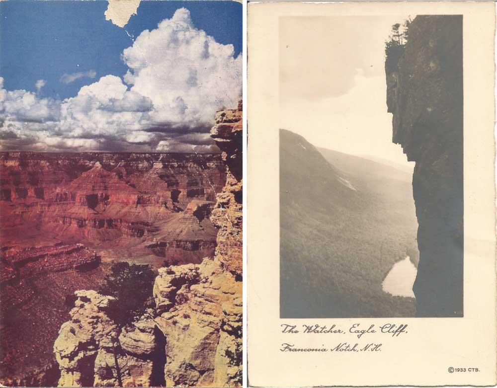 Found Postcards III & IV, 2015