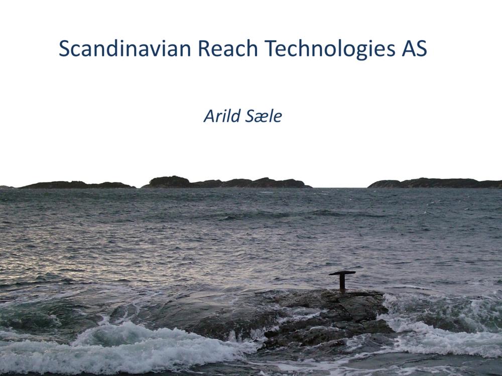 Arild Sæle, ScanReach