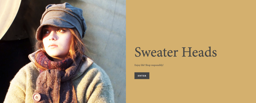 Sweater Heads Website