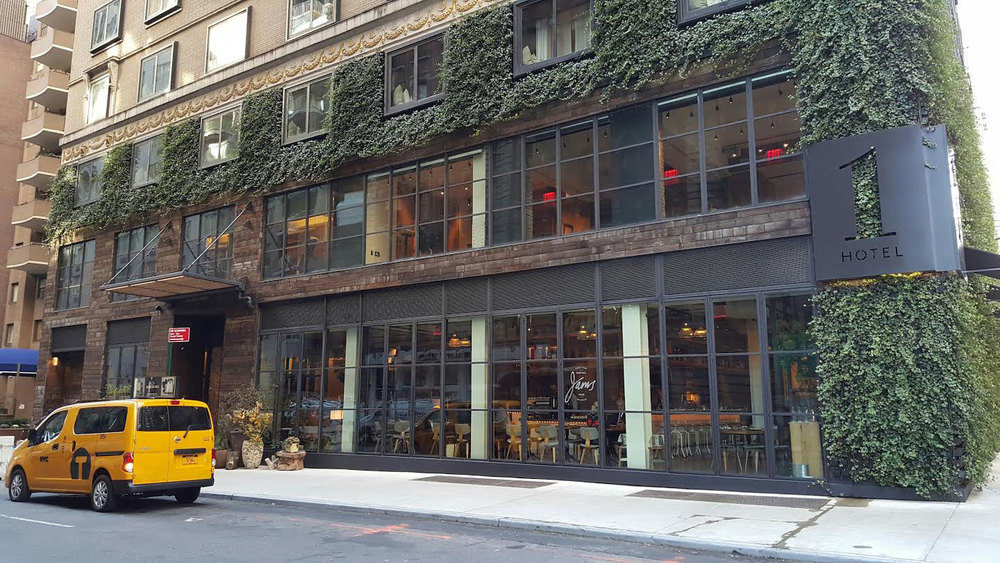 1 Hotel Central Park Exterior Green Wall