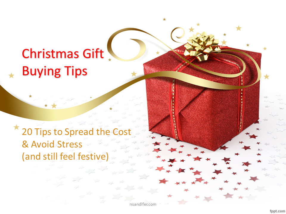 20 tips to getting Christmas all wrapped up early.