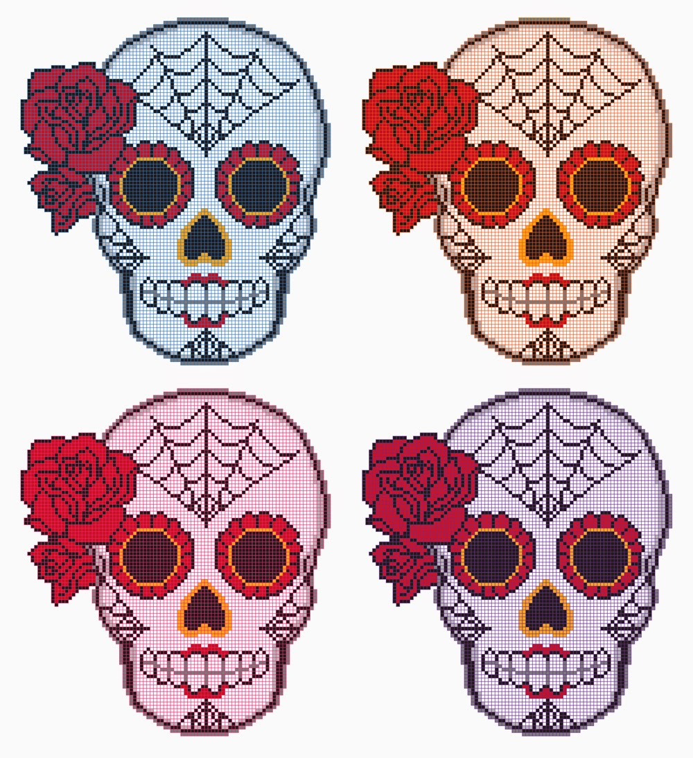 Day Of The Dead Mask Designs