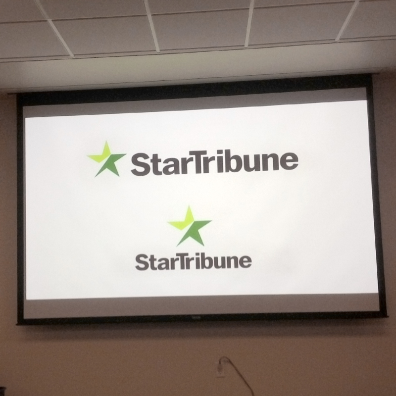 The final logo design included a tweaked wordmark and a new star.