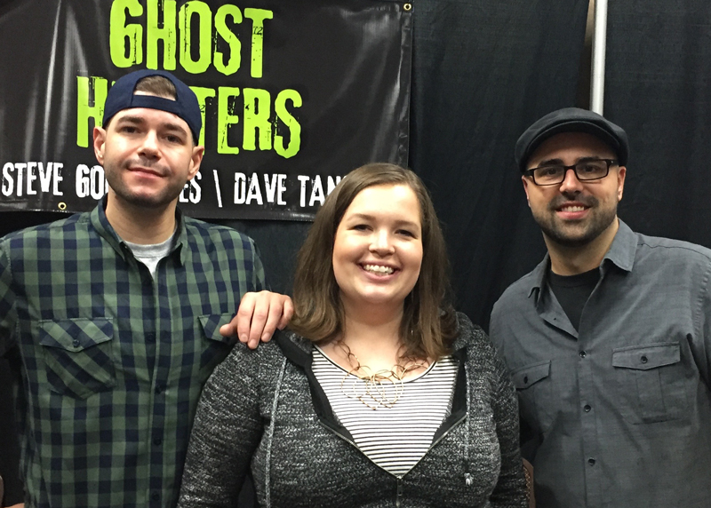 Steven and Tango from Ghost Hunters.