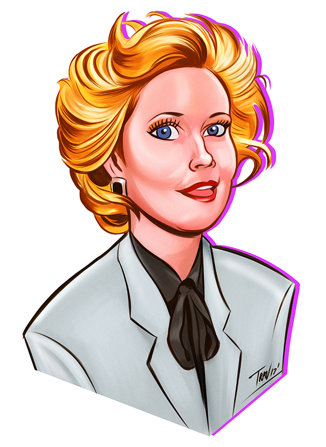 Travis Filligant Tess McGill Working Girl