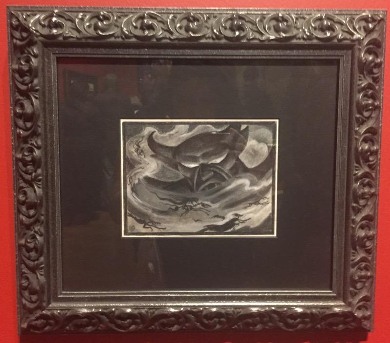 """Kay Nielsen """"Fantasia"""" concept art."""