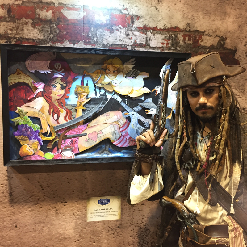 My favorite picture from the entire Expo! My ARRRRRRRRRRRRRRTTT!