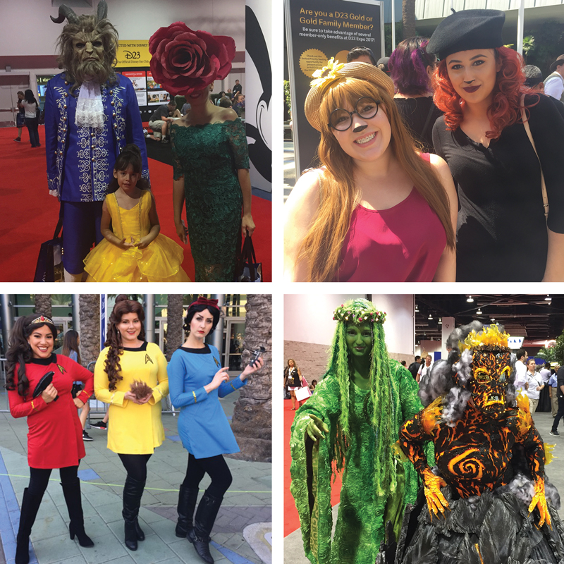 Just a few of my favorite cosplays at the D23 Expo.  CLICK HERE  to see my full post.