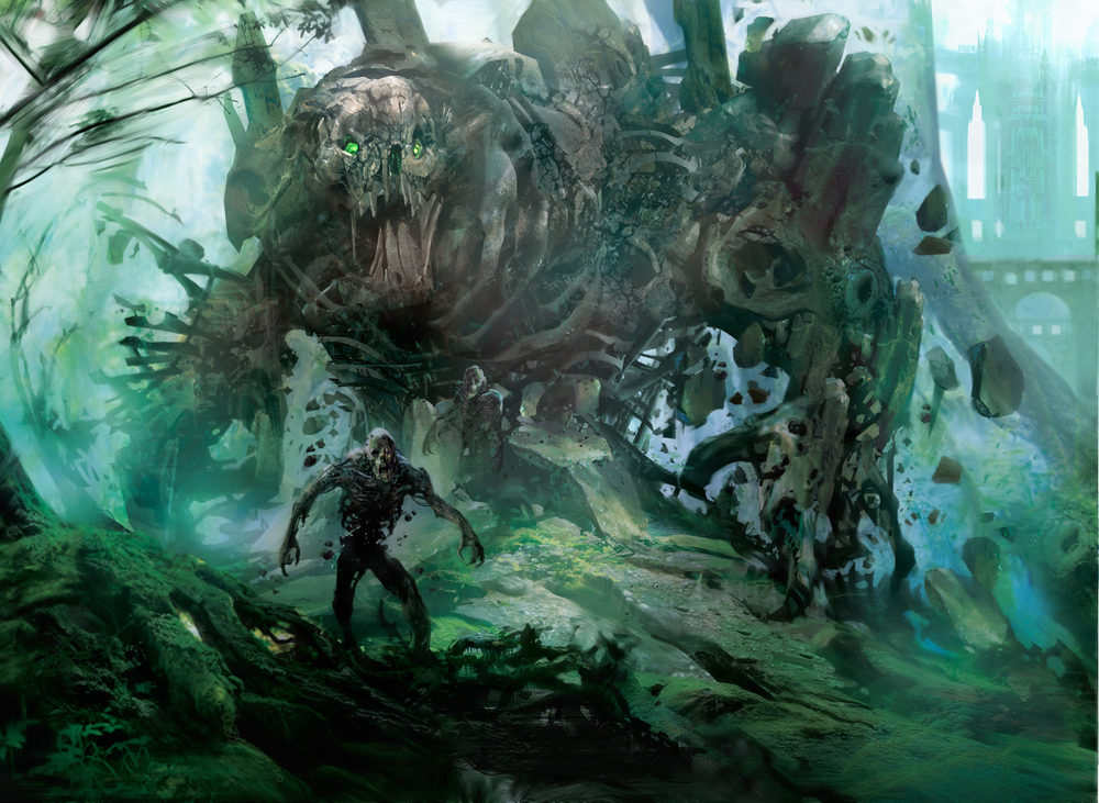 Sepulchral Primordial (Creature - Avatar)