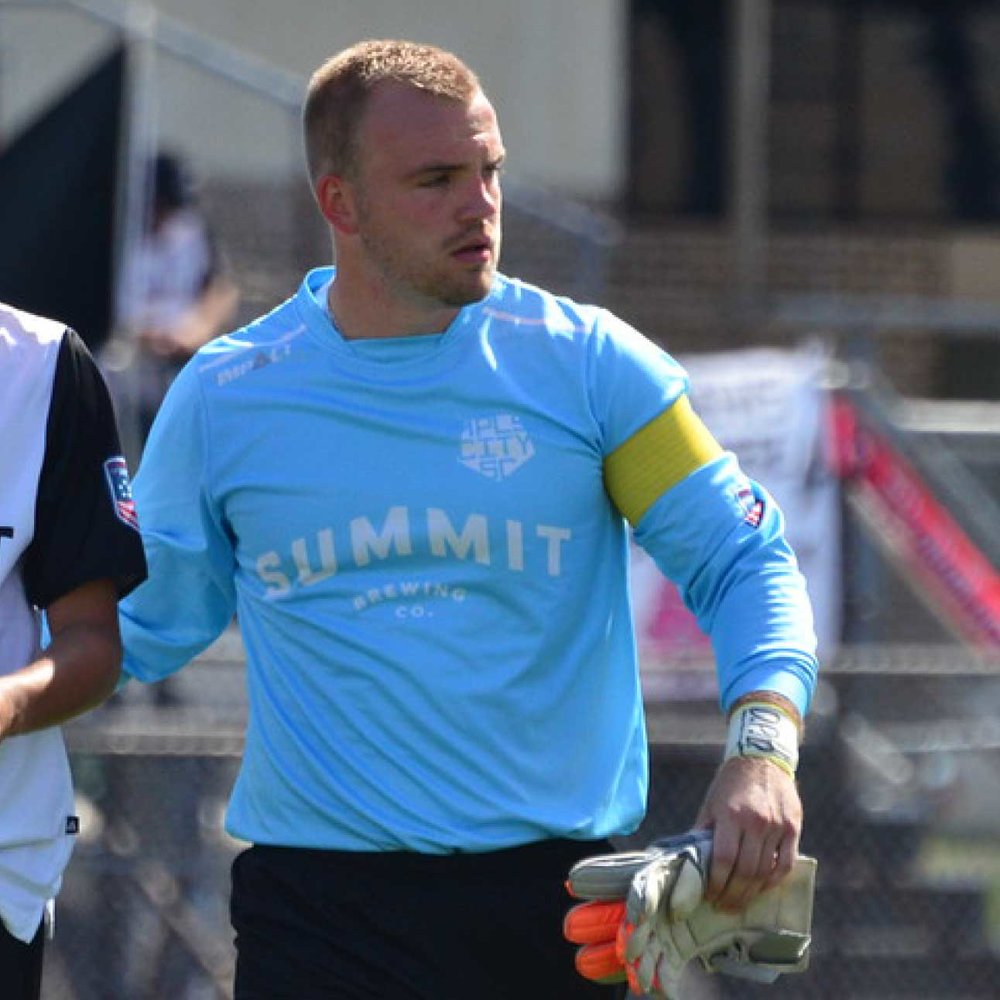 1. MATT ELDER Goalkeeper // New Hope