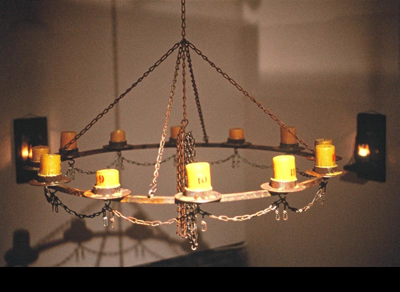 Fete (Chandelier Detail)
