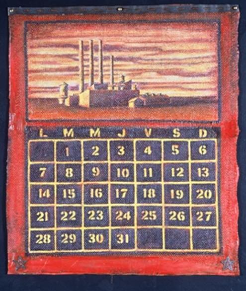 Almanac #1 (Detail)