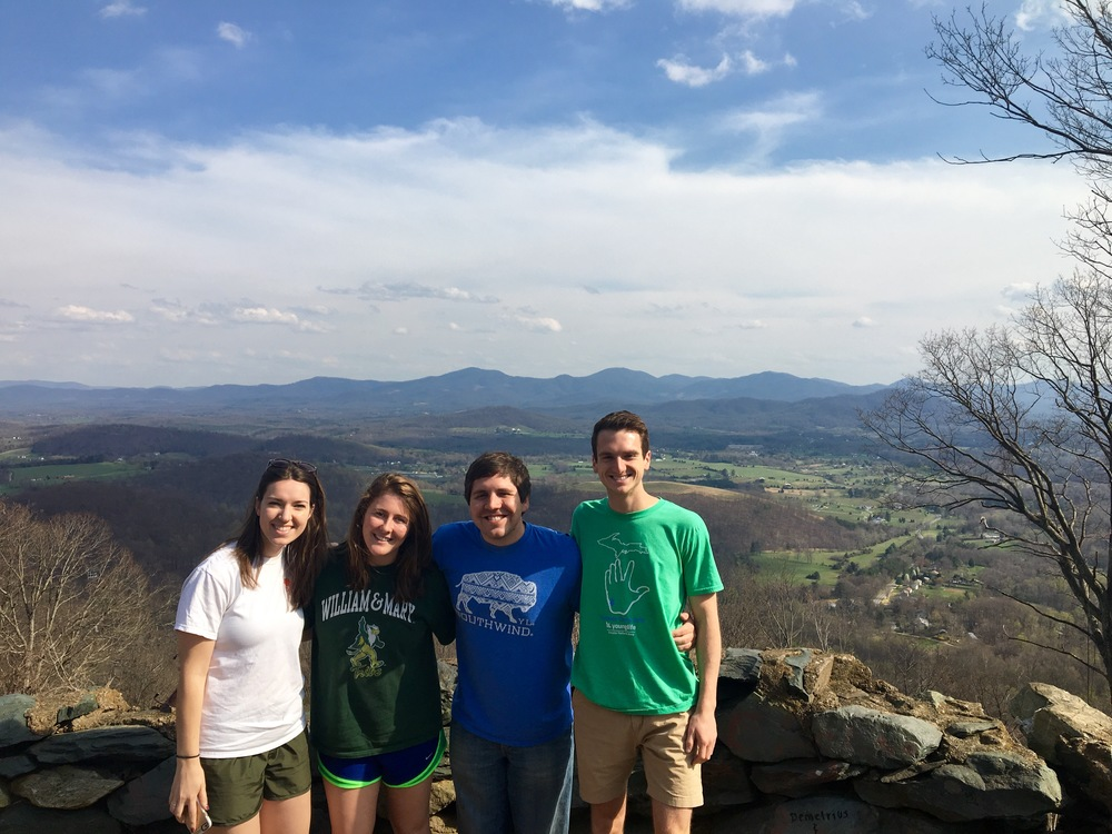 We stopped to snap some pics on Skyline Drive!