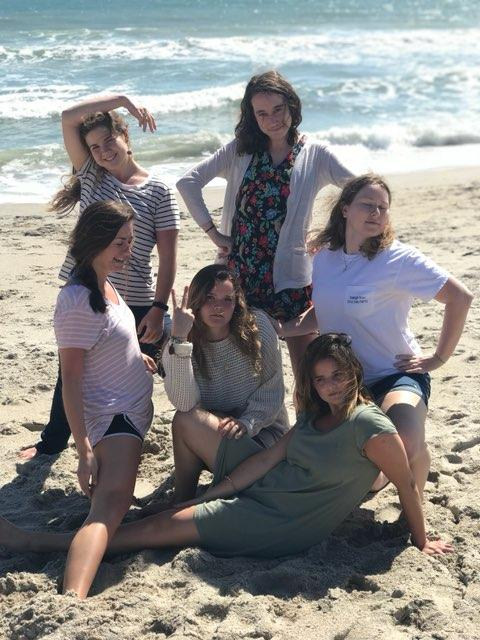 some fellowz girlz sass @ the women's retreat in Wrightsville Beach