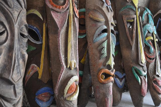 Haitian masks