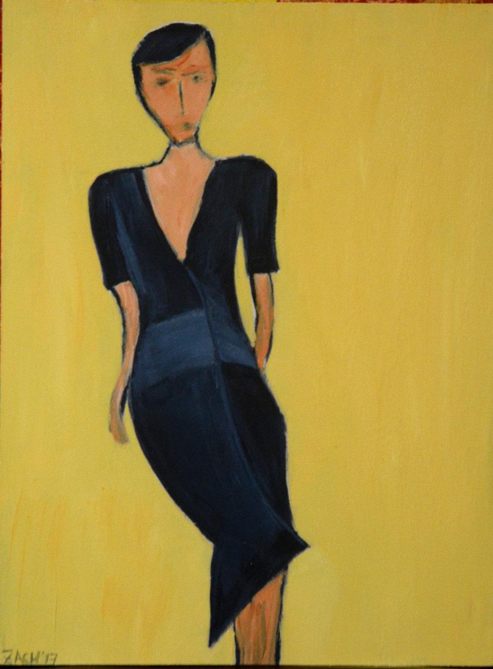 Woman in Blue #62